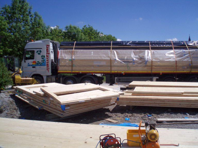 Leno Massivbau Materiallieferung
